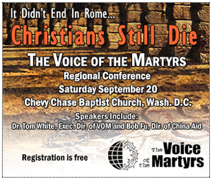 Christian Persecution Blog: Voice of the Martyrs Regional ...